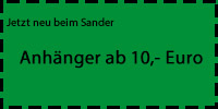 Anhnger beim Sander
